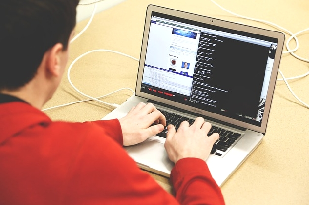 パソコンで仕事