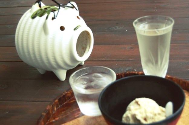 日本酒で晩酌