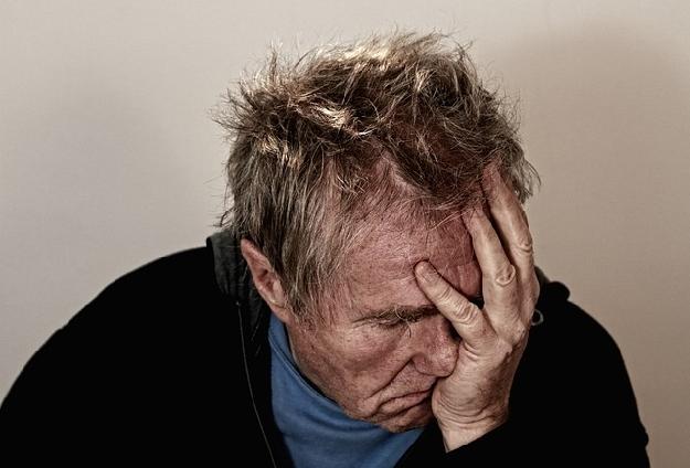 慢性疲労性症候群の男性