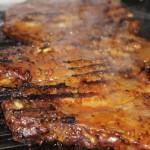 肉中心の食事